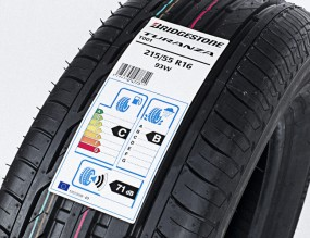Eco tyre label
