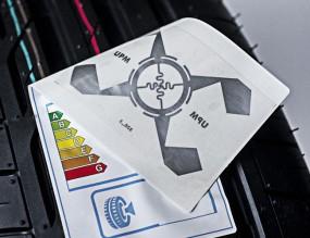 RFID tyre label