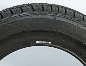 Vulcanized tyre label