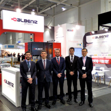 ALBENIZ BIG SUCCESS AT TIRE TECHNOLOGY 2019